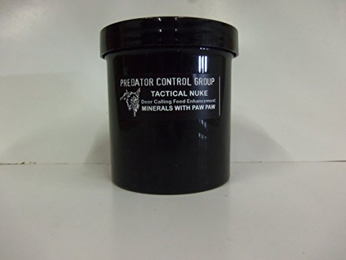 Predator Control Group ''Tactical Nuke Minerals/Wild Paw Paw'' Deer Feed Enhance by Predator Control Group