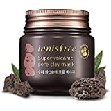 Innisfree Super Volcanic Pore Clay Mask, 1.28 Ounce