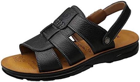 靴メンズファッションサンダルカジュアルシンプルで快適なアウトソールデュアルユーススリッパ