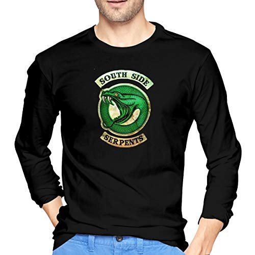 Monicame Mens South Side Serpents Funny Long Sleeve