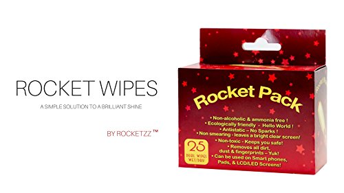 Rocket Wipes Screen Cleaning Wipes by RocketZZ