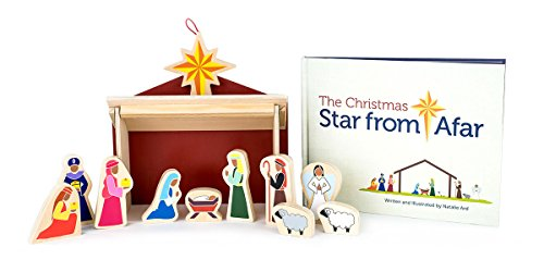 (Star From Afar The Christmas Darker Skin Tone - Christmas Advent Nativity for Kids - Great Christian or Catholic Gift for Children)
