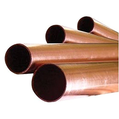 COPPER PIPE 15MM X2M Engineering Materials Tube - COPPER PIPE, 15MM X2M, External Diameter: 15mm, Length: 2m, Material Colour: Copper, Tube Material: Copper UNBRANDED8757
