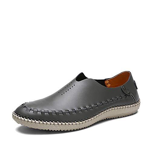 - edv0d2v266 Men's Dress Casual Loafers for Men Slip-on Driving Loafers Shoes Walking Shoes (Gray Lable 38/5.5 D(M) US Men)