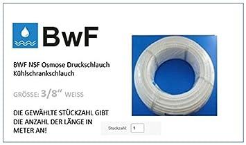 Schlauch in WEISS 3//8 Zoll für Side by Side Kühlschrank
