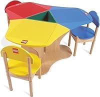 LEGO Education Three Seat Playtable, Solid Hardwood 6099591 by LEGO Education
