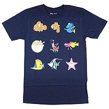 Disney Finding Nemo Minimalist Characters T-Shirt