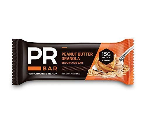 - PR Bar | Peanut Butter Granola 15g Protein Bar | Energy Sustaining & Hunger Curbing | Whole Nutrition | On-The-Go Soy and Whey Protein Snack | Informed-Choice Certified | Gluten-Free | 12 Pack