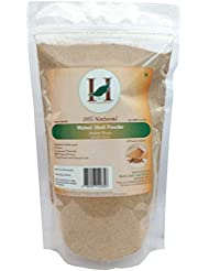 H&C 100% Natural Walnut Shell Powder for Scrub Formulation 227gms (1/2 LB)