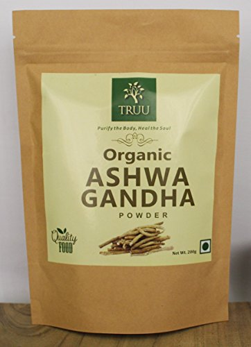 Cheap Organic Ashwagandha Root Powder- 7 oz, 100% Fresh USDA Certified Withania Somnifera, Non-GMO USDA Certified Pure and Natural Ayurvedic Herbal Supplement Superfood