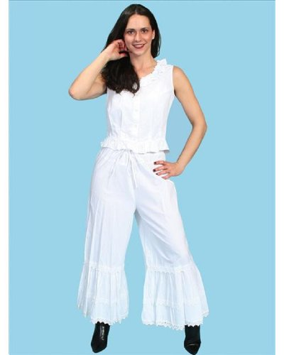 Rangewear By Scully Women's Rangewear Bloomers White Medium
