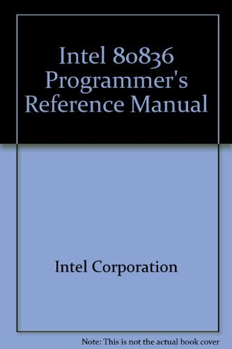 Intel 80836 Programmer's Reference Manual from Brand: Intel Corporation (CA)