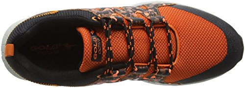 Gola Altberta, Zapatillas De Running para Hombre Naranja (Orange/Black)