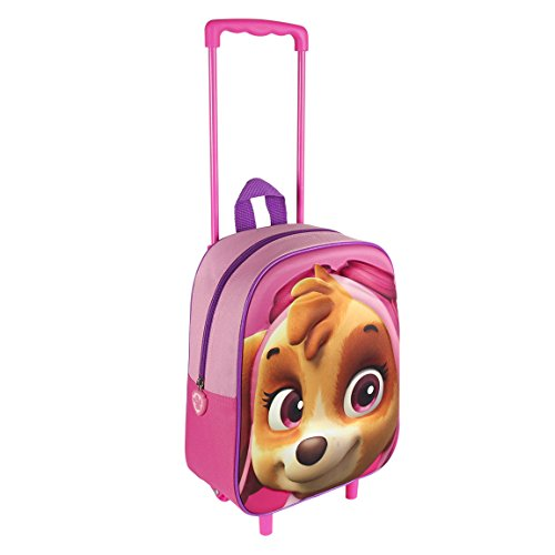Paw Patrol 2100001607 Skye Travel Trolley with 31 cm 3D Junior Backpack