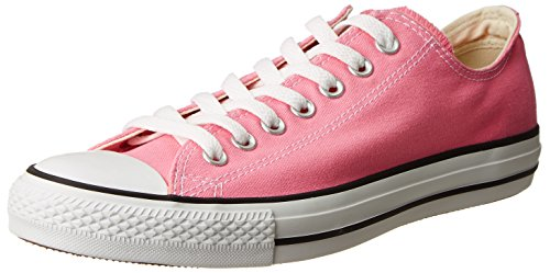 Converse Chuck Taylor All Star Canvas Low Top Sneaker,Pink,7 US Men/9 US Women