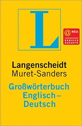 Langenscheidts Großwörterbuch, Englisch (Langenscheidt Großwörterbücher)