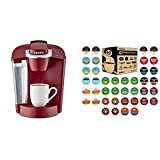 K-Classic Coffee Maker, Rhubarb and Coffee Lovers' Collection 40 Count Sampler Pack