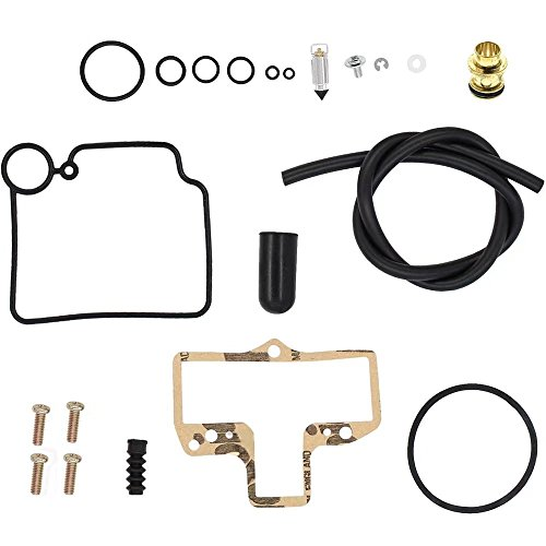 JahyShow Carburetor Carb Rebuild Kit Repair For Mikuni HSR42/45 Smoothbore KHS-016 Harley HARLEY TWIN CAM EVO BIG (Big Twin Cam)