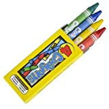 Crayons - 4 Pack - Assorted Colors 144 packs of 4 crayons sku# 1192989MA