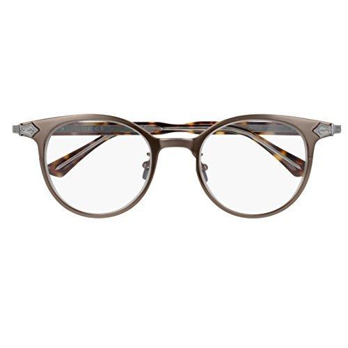 Gucci GG 0068O 002 Brown Ruthenium Titanium Round Eyeglasses - Eyewear Womens Gucci