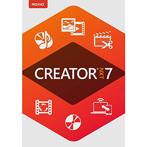 Roxio Creator NXT 7 - CD/DVD Burning & Creativity Suite [PC Download] (Windows 7 Family)