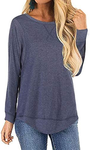 Aniywn Sleeve Casual T Shirt Pullover