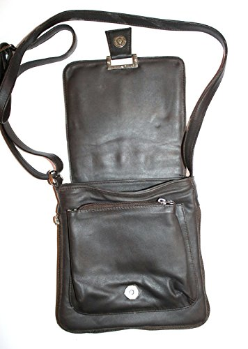 Leather Pure Body Brown Cross Bag C6qdwYf