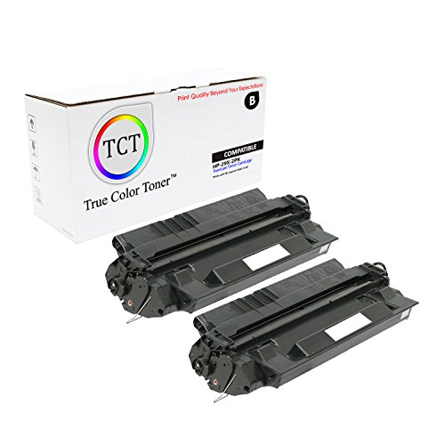 True Color Toner C4129X 29X High Yield Black 2-Pack Compatible Toner Cartridge Replacement for HP LaserJet 5000 5000n 5000dn 5000gn 5100 5100dtn 5100tn Printers (10,000 Pages) (29a Color Print Cartridge)