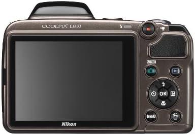 Nikon Coolpix L810 Digitalkamera 3 Zoll Bronze Kamera
