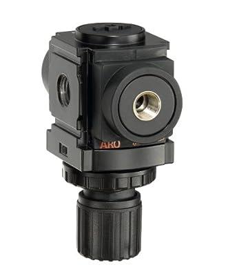 """ARO R37221-100 Air Regulator 1/4"""" NPT, w/o Gauge - 250 psi Max Inlet"""
