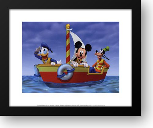 Mickey Mouse Clubhouse: Adventure! Here we come! 18x15 Framed Art Print by Disney, Walt