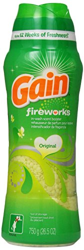 Review Gain Fireworks In-Wash Scent