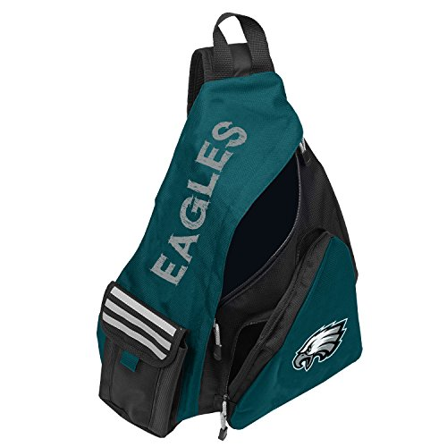 Officially Licensed NFL Philadelphia Eagles Leadoff Slingbag