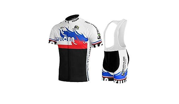 Hombres Ciclismo Jersey Sets rápido seco Manga Corta ...