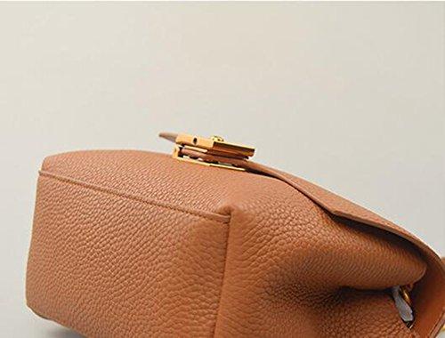 Retro Chain Khaki Backpack Casual Oblique Backpack Black Oblique Color Small Shoulder Bags Bag Handbags Square Mini 4UIwq45