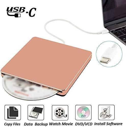 DVDドライブ USB3.0外付けDVD CDドライブのUSB CスーパードライブDVD/CD +/- RWバーナーライター YYFJP