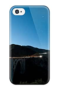 Everett L. Carrasquillo's Shop Best Iphone 4/4s Case Slim [ultra Fit] Bixby Creek Bridge Big Sur Protective Case Cover 6432778K98320454