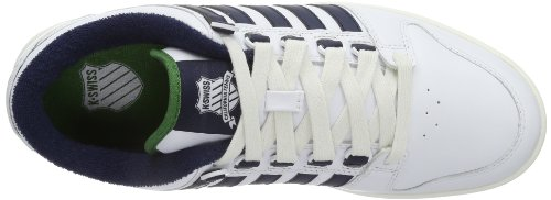 navy Uomo weiß 143 Lth swiss Alvary K Bianco white Sneaker juniper qRIH8w