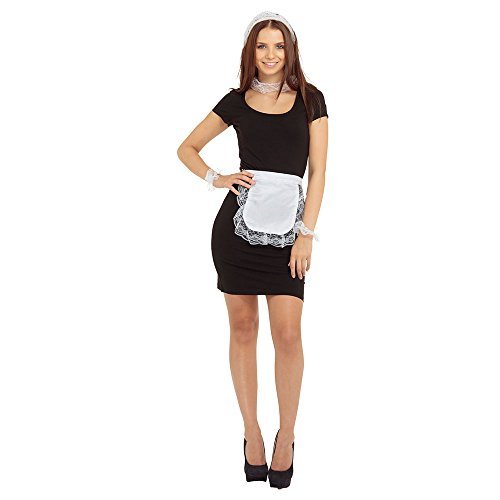 Bristol Novelty DS017 French Maid Set, One