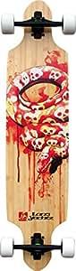 Landyachtz Bamboo Drop Carve Complete Longboard Skateboard -9.75X39.25