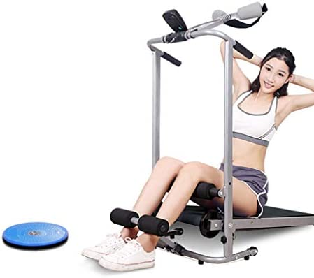 ZANFUN 4-in-1 Foldable Treadmill with Incline for Home Gym Exercise Equipment Portable Small Treadmill for Walking Running Supine Twisting Massage Weight Loss Fitness Treadmills for Small Spaces 5