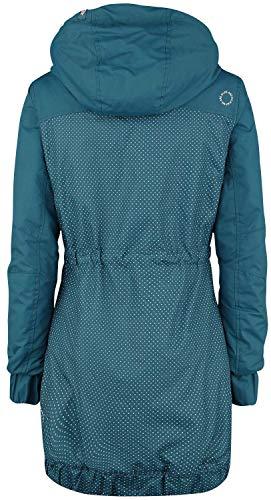 Charlotte Alife Coat amp; B Mujer Azul Rw57qTnC5 Chaqueta Kickin Rxqwfa0I5a