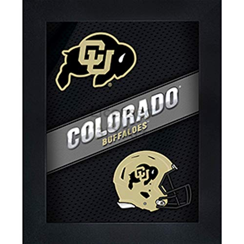 Colorado Buffaloes 3D Poster Wall Art Decor Framed | 14.5x18.5