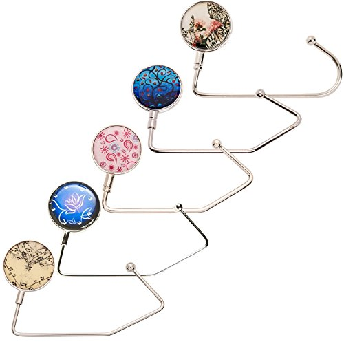 Purse Design - (5 Pack) Design Purse Hooks
