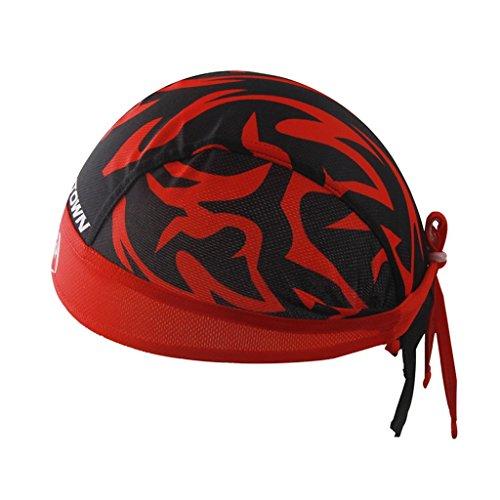 GWELL Bandana Cap Atmungsaktiv Kopftuch Bikertuch UV Schutz Fahrrad Erwachsene Radsport