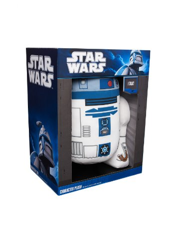 """Underground Toys Star Wars 15"""" Talking Plush - R2-D2 for sale  Delivered anywhere in USA"""