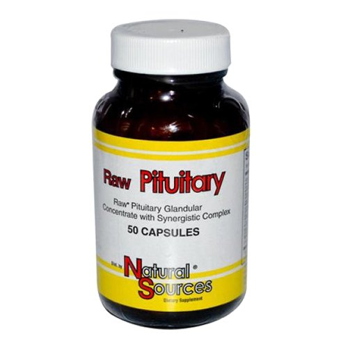 Natural Sources Raw Pituitary Capsules, 50 Count