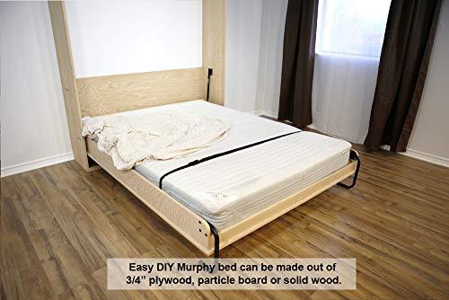 DIY Murphy Wall Bed Hardware Kit (Queen - Vertical)