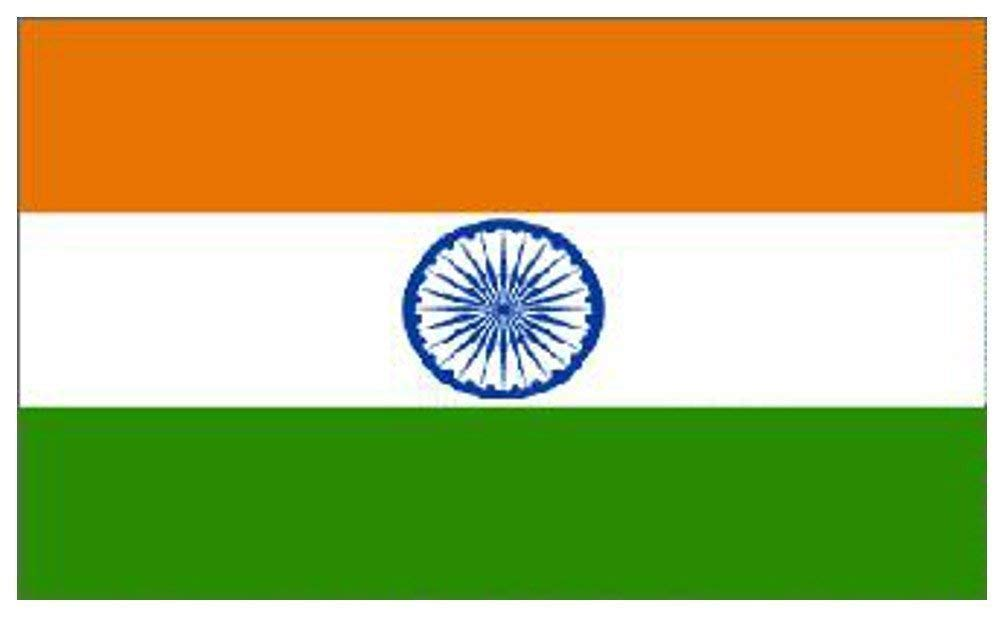 India National Flag 5ft x 3ft India-WWF-Cntr