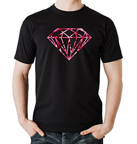 Diamond Roses T-Shirt Black Certified Freak